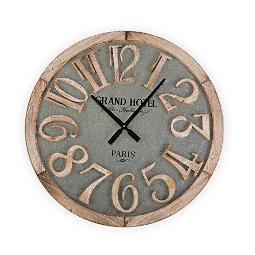 Versa Macquarie Reloj de Pared Silencioso Decorativo para la Cocina, el Salón,...