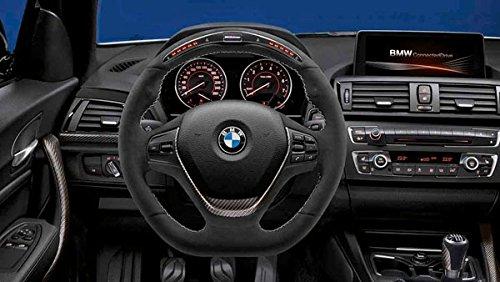 BMW Original M Performance Lenkrad Alcantara mit Carbonblende und Race Display für 1er F20 F21 - ohne Sportautomatik