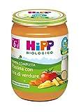 Hipp Pappa Pronta Pastina con Tris di Verdure - 6 confezioni da 190 g...