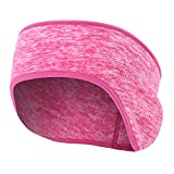 Turbante Cerchietti Fascia per Capelli Donna Hairband Elastic Fitness Yoga Women Headband Peluche Warm Outdoor Men Paraorecchie Accessori per Capelli-6