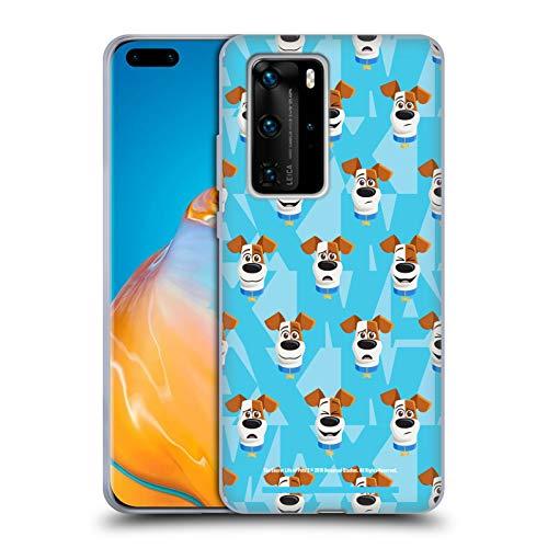 Head Case Designs Offizielle The Secret Life of Pets 2 Max Hund Muster for Pet's Sake Soft Gel Handyhülle Hülle Huelle kompatibel mit Huawei P40 Pro / P40 Pro Plus