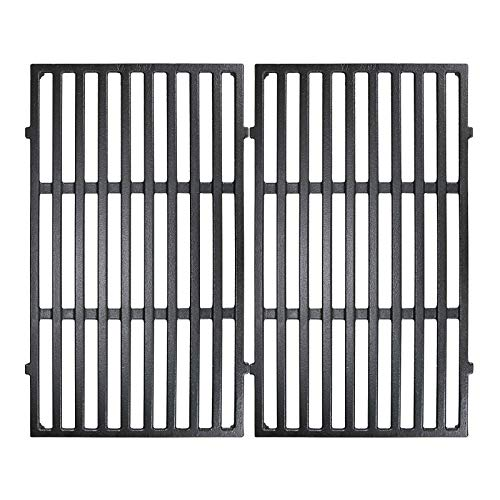 Utheer 7637 Cast Iron Cooking Grid Grate 17.5 x 10.2 Inch for Weber 46010074 Spirit 200 E210 S210...