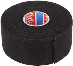 tesa 51608-00008-00 stoffen tape PET-vlies 51608 isolatietape voor kabelbomen katoenen tape (38 mm x 25 m), zwart