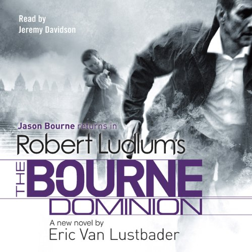 Robert Ludlum's The Bourne Dominion audiobook cover art