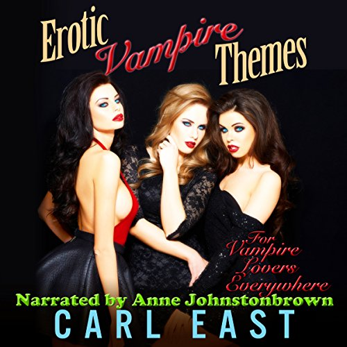 Erotic Vampire Themes audiobook cover art