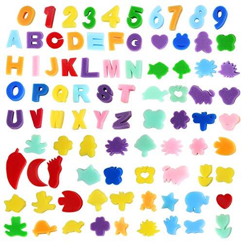 Alphabet Letter Painting Art Craft Sponge