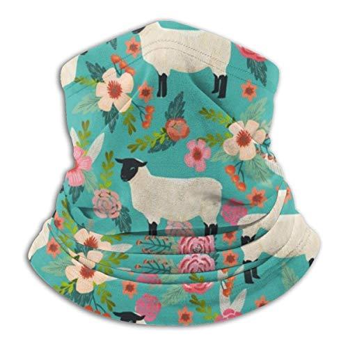 Lzz-Shop Multifunktionstuch Bandanas Schal,Schlauchtuch,Kopftuch,Stirnband,Tuch Halsschlauch Tierliebhaber von Schafen