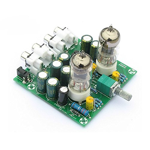 Lysignal Fever 6J1 Tube Amplifiers Board Preamplifier Headphone Pre-Amp Amplifier Audio Board DIY Kits