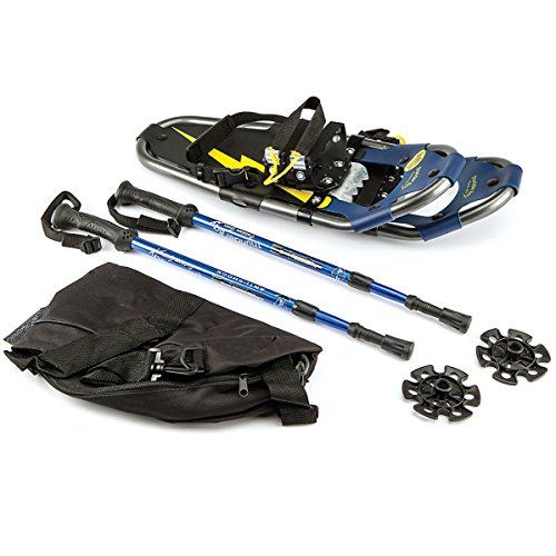 ThunderBay Lightweight Aluminum-Alloy Snowshoes for Kids