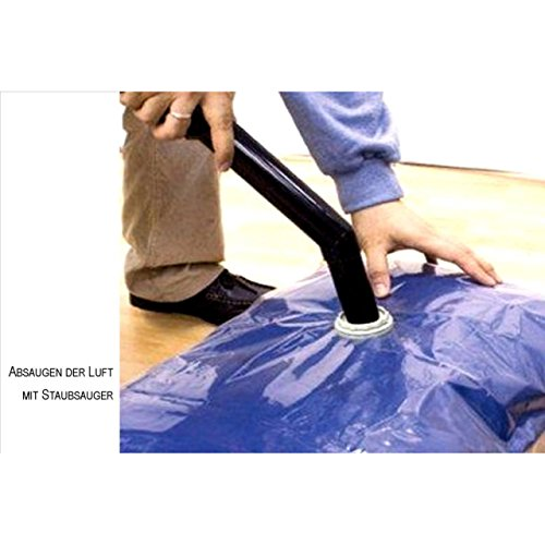 sacchetti porta abiti sottovuoto-6pezzi-3x 100x 80cm e 3x 60x 80cm-riduce il volume di 75%.