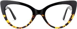 Zeelool Women's Stylish Cat Eye Glasses Frame with Clear Lens Claudette ZOA01968