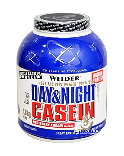 Weider Day & Night Proteine della Caseina, Sapore...