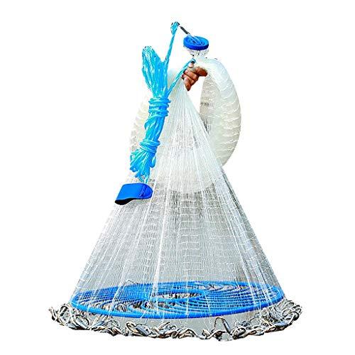 RY Fishing gear RKY Redes de Pesca, atarrayas Frisbee, Disco Lanzar Nets,...