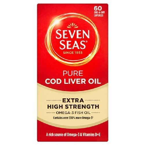 Seven Seas Extra High Cod Liver Oil Capsules 60 per pack