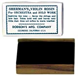 Sherman Violin Rosin: Dark