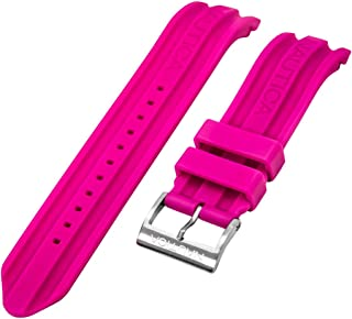 Nautica Unisex N14607G | A14607G BFD 100 Date 22mm Pink Replacement Watch Band | Strap