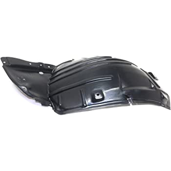 Splash Shield Front Left Side Fender Liner Plastic Front Section for EX35 08-12 QX50 14-17