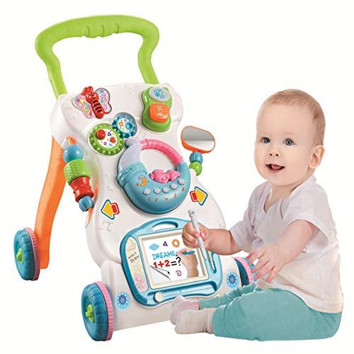 ZHIZI Libros blandos 3-en-1 aprendizaje de aprendizaje caminante baby stroller crecimiento de actividades móviles