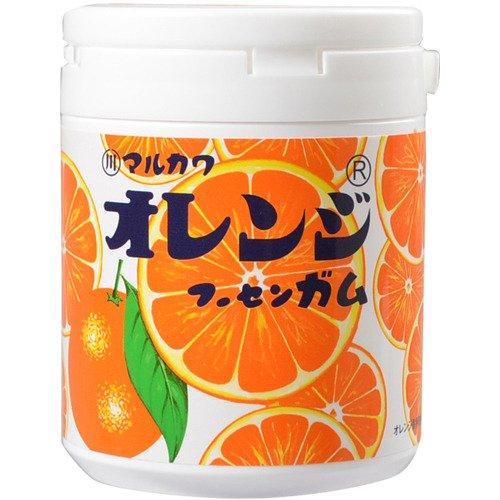 400円 マルカワ オレンジマーブルボトルガム [1箱 6個入]