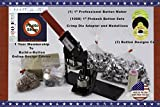 1' Button Maker Machine + 1000 Complete Pinback Button Sets + Cds + Software from American Button Machines