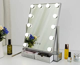 Large Hollywood Lighted Vanity Makeup