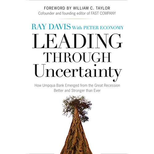 Leading Through Uncertainty audiobook cover art