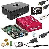 Marstudy Raspberry Pi 4 Model B Ultimate Max Kit(64GB Edition) /ラズベリーパイ4B(4GB RAM)/MicroSDHCカード64GB NOOBSプリインストール/のプレミアムケース/低騒音ベアリングシステムファン/3.5A Micro USB-C電源アダプタ ON/OFFスイッチ付き/MicroHDMIケーブルライン/3年保証付