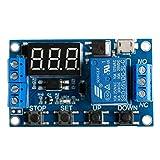 ARCELI store 6-30V Timer relè temporizzatore regolabile Modulo interruttore Tempo ritardo circuito stampato