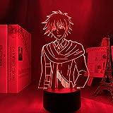 Lámpara 3D anime Maid Sama USUI Takumi para dormitorio luz de noche decorativa niños regalo de cumpleaños habitación manga Maid Sama luz LED