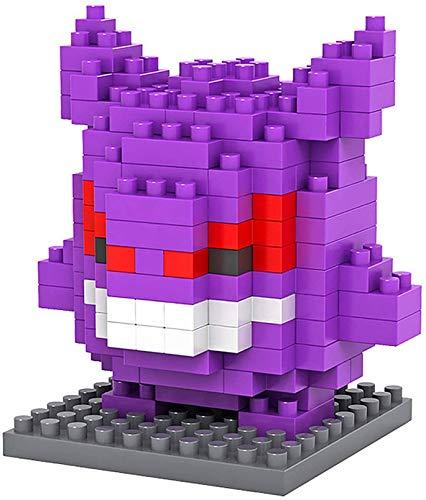 QSSQ Mini Nano Building Blocks Construction Juguetes, Figura De Rompecabezas 3D, Juguetes Ladrillos para Regalo De Cumpleaños,Demon