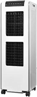 GGYMEI-Aire acondicionado portátil Bajar La Temperatura El Ahorro De Energía Material Plástico Ventilador Móvil Frío, 2 Estilos (Color : White, Size : 38x38x115cm)