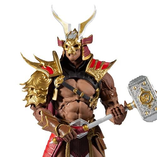 Mortal Kombat McFarlane Boneco Shao Khan, Multicor