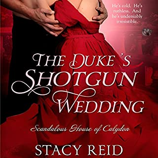 The Duke's Shotgun Wedding audiobook cover art