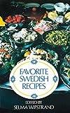 Favorite Swedish Recipes (Dover Cookbook Series)