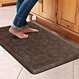 WiseLife Kitchen Mat Cushioned Anti Fatigue Floor Mat,17.3'x28', Thick Non Slip Waterproof Kitchen...