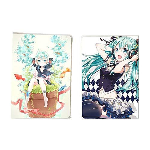SGOT Anime Cuaderno Miku transparente plástico Cover...