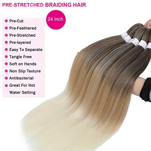 Brown blonde weave _image0