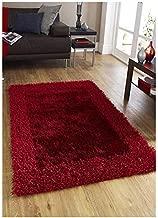 RMHANDLOOM 5D Designer Shaggy Rug Doormat/Bathmat for Bathroom, Room, Bedroom, Maindoor, Entrance Antiskid (16x24 inch)