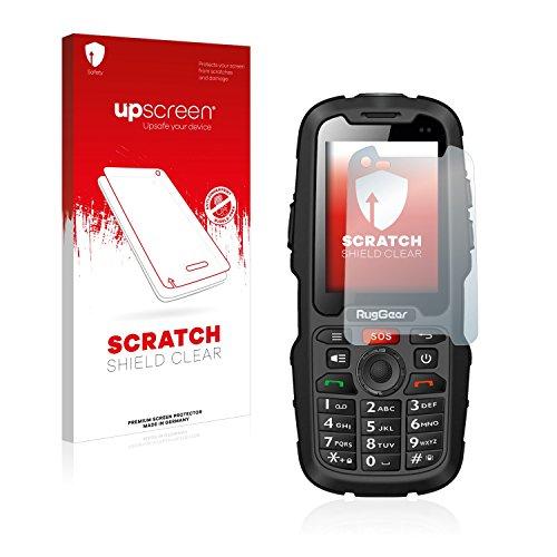 upscreen Schutzfolie kompatibel mit RugGear RG310 – Kristallklar, Kratzschutz, Anti-Fingerprint