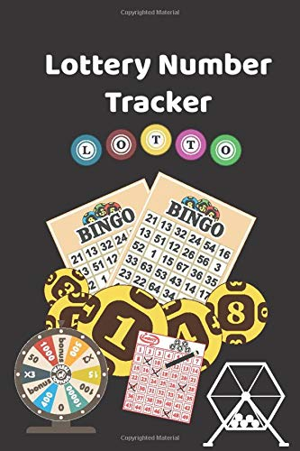 Lottery Number Tracker: Jackpot lottery gambling Notebook Lined Lottery Player Gifts,Accessory For Buying Lottery Ticket Journal & Tracker Winner Lotto Numbers Casino Tracker