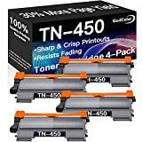Go4Color Compatible Toner Cartridges Replacement for Brother TN450 TN-450 TN420 TN-420 Toners use with Brother DCP-7060D DCP-7065DN HL-2270DW HL-2275DW HL-2240D Printer (High Yield, Black, 4-Pack)