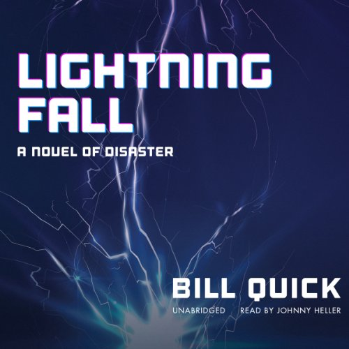 Lightning Fall audiobook cover art