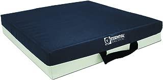 Essential Medical Supply Gel Bladder with Foam Cushion, Blue, 16 x 16 x 3 Inch