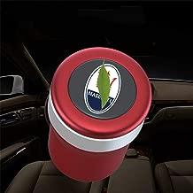 oro blu Per auto portatile Posacenere rosso auto posacenere auto posacenere compatibile Land Rover posacenere blu LED con contenitore interno auto coperchio nero
