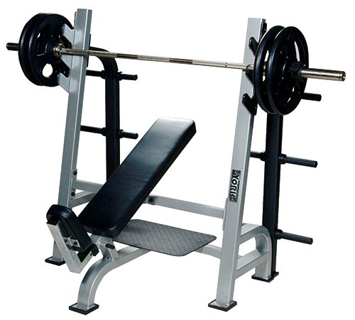 Find Bargain York Barbell 54038 Olympic Incline Bench with Gun Racks44; White