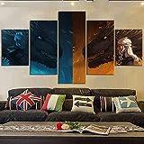 BXZGDJY Home Dekorative Malerei Tuch 5 Fantasy-Film