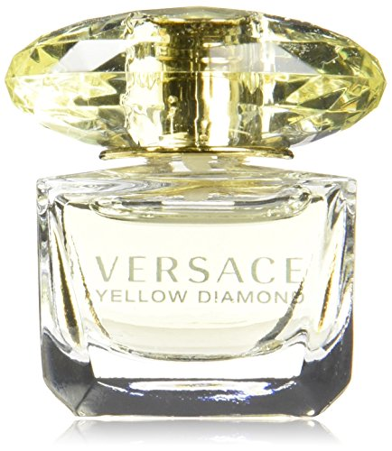 Versace Yellow Diamond EDT Splash, 0.17 Ounce Launched by the design house of Versace in the year 2011 For all skin types It is recommended for casual wear
