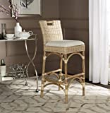Safavieh Home Collection Fremont Natural Barstool