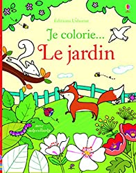 Je colorie... Le jardin