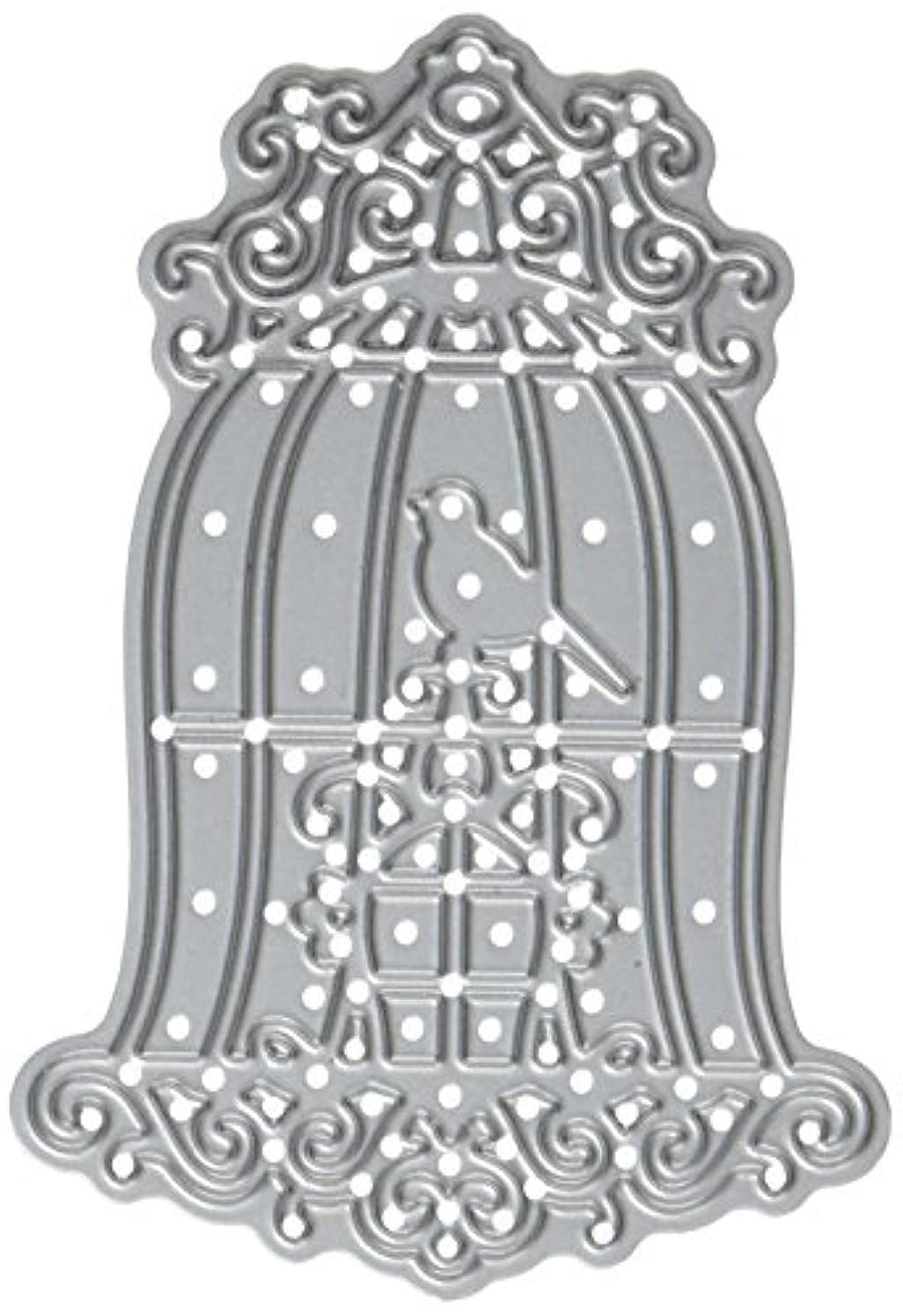 CottageCutz Elites Die Cuts, 2 by 3-Inch, Fancy Ornate Birdcage